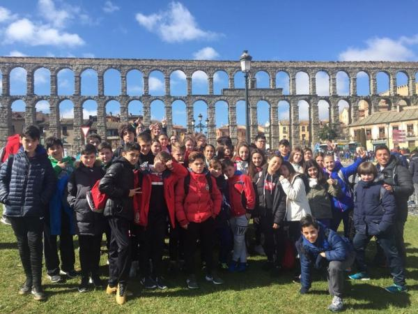 1º ESO. Salida Cultural Segovia