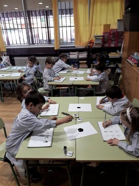 Escribiendo con pluma, Olga (2)