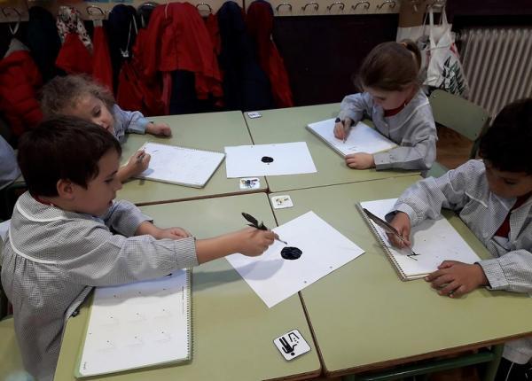 Escribiendo con pluma, Olga (4)