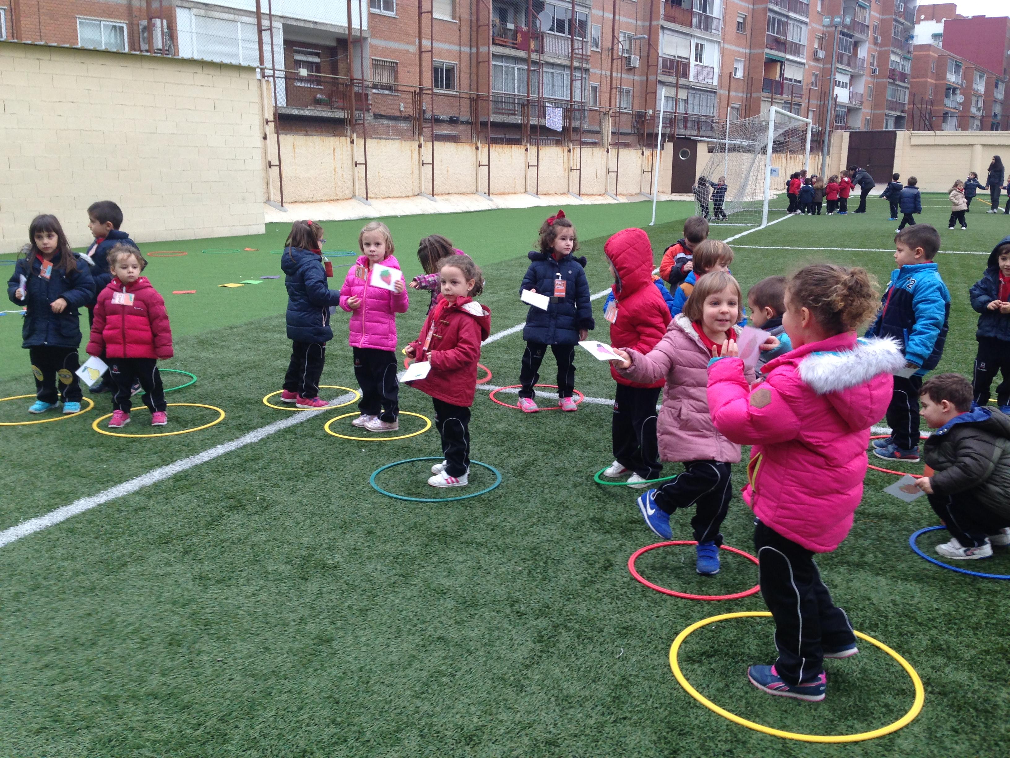 Juegos Cooperativos Blog Escolapios Alcala Educacion Infantil